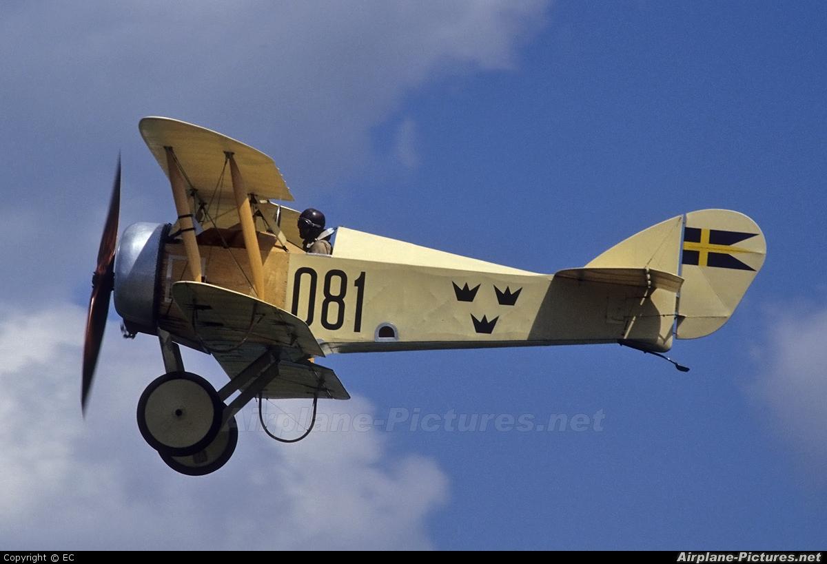 Private SE-XIL aircraft at Angelholm