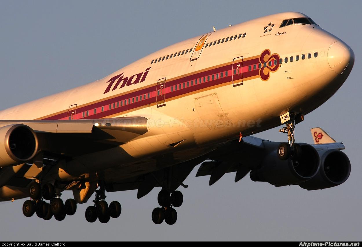 Thai Airways HS-TGN aircraft at Tokyo - Narita Intl