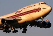HS-TGN - Thai Airways Boeing 747-400 aircraft