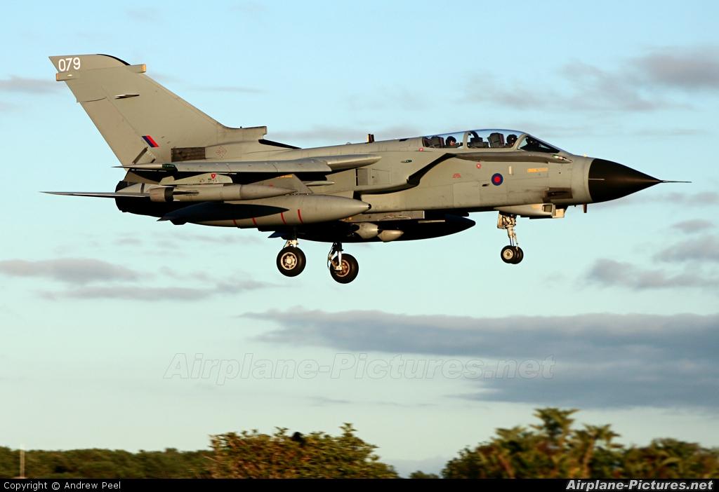 Royal Air Force ZD711 aircraft at Lossiemouth