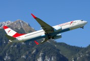 OE-LNR - Austrian Airlines/Arrows/Tyrolean Boeing 737-800 aircraft
