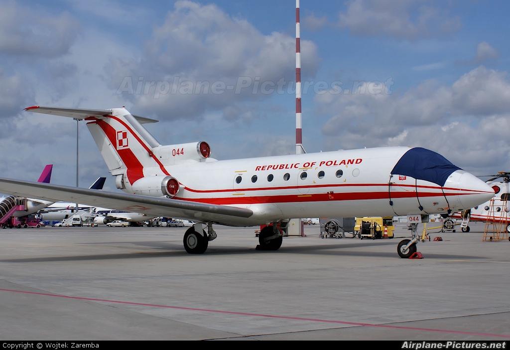 Poland - Air Force 044 aircraft at Warsaw - Off Airport
