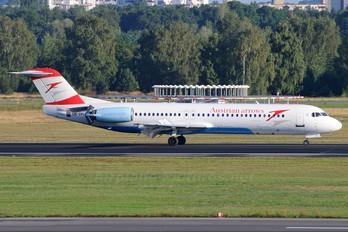 OE-LVL - Austrian Airlines/Arrows/Tyrolean Fokker 100