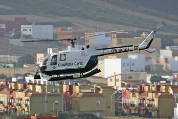 HU.15-20 - Spain - Air Force MBB Bo-105CB