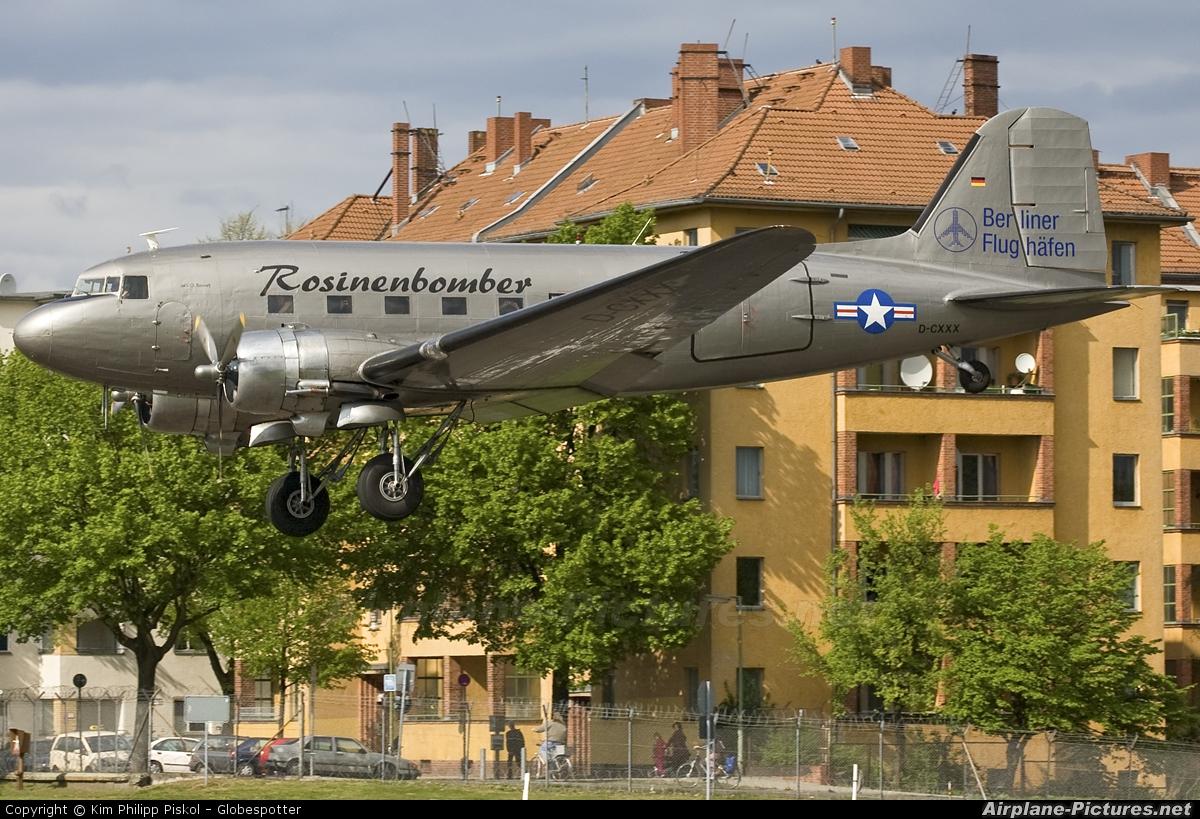 Air Service Berlin D-CXXX aircraft at Berlin - Tempelhof