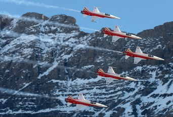 J-3085 - Switzerland - Air Force:  Patrouille de Suisse Northrop F-5E Tiger II