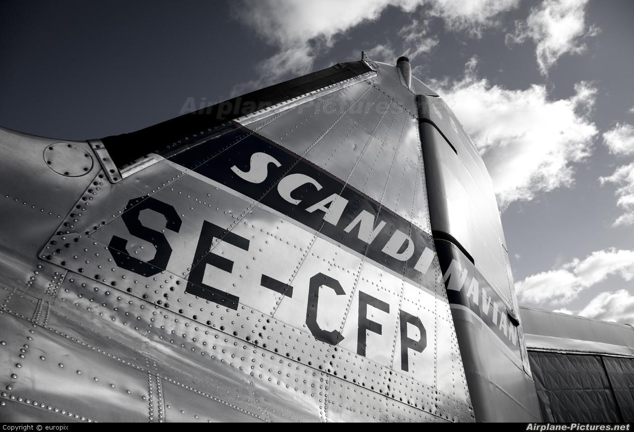 SAS - Flygande Veteraner SE-CFP aircraft at Stockholm - Arlanda