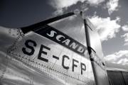 SE-CFP - SAS - Flygande Veteraner Douglas C-47A Skytrain aircraft