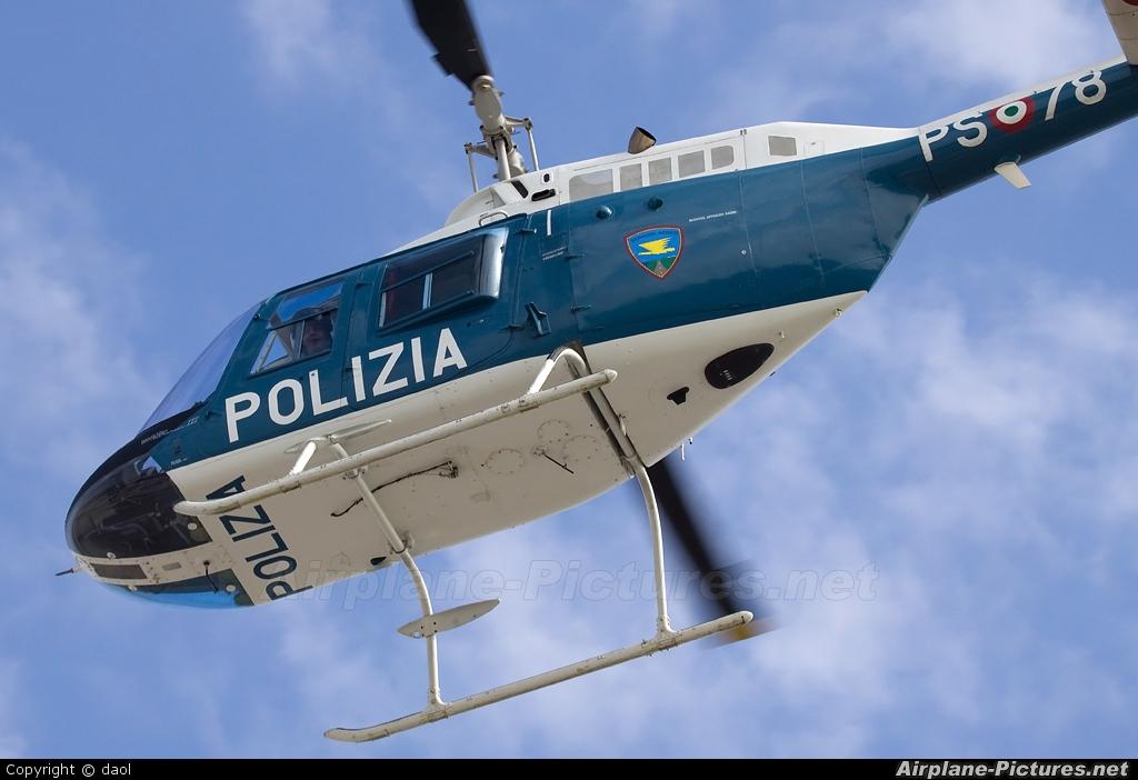 Italy - Police PS-78 aircraft at Milan - Malpensa