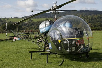 G-BGZK - Private Westland Souix AH.1