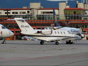 EC-HVQ - Gestair Cessna 525 CitationJet