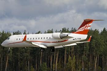 4L-TGB - Airzena - Georgian Airlines Canadair CL-600 CRJ-200