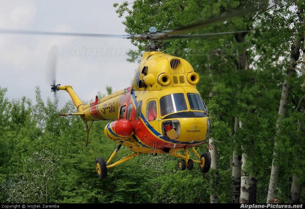 Polish Medical Air Rescue - Lotnicze Pogotowie Ratunkowe SP-SXG aircraft at Białystok - Krywlany