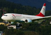 OE-LNJ - Austrian Airlines/Arrows/Tyrolean Boeing 737-800 aircraft