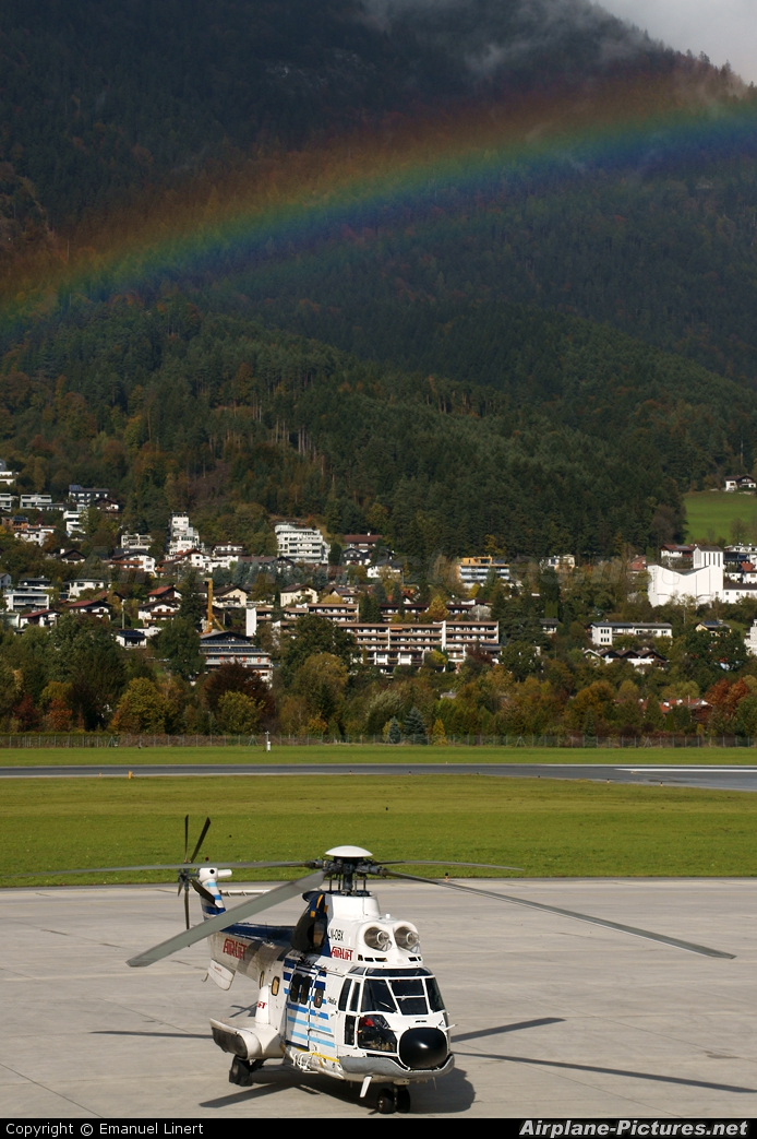 Airlift AS (Norway) LN-OBX aircraft at Innsbruck