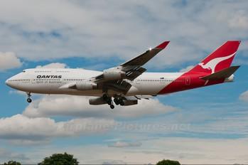VH-OJL - QANTAS Boeing 747-400