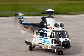 LN-OBX - Airlift AS (Norway) Aerospatiale AS332 Super Puma