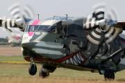 OE-FDI - Pink Aviation Short SC.7 Skyvan aircraft