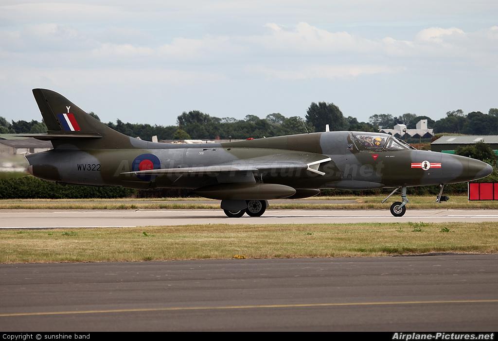 Private G-BZSE aircraft at Waddington