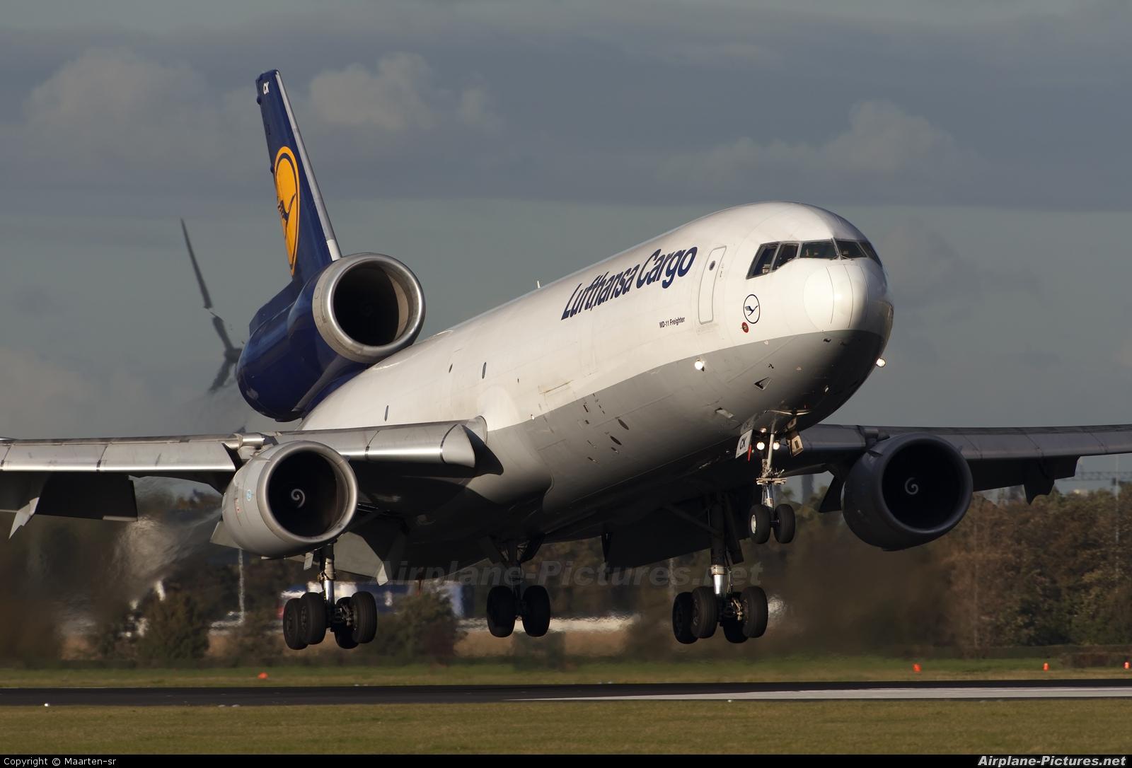 Lufthansa Cargo D-ALCK aircraft at Amsterdam - Schiphol