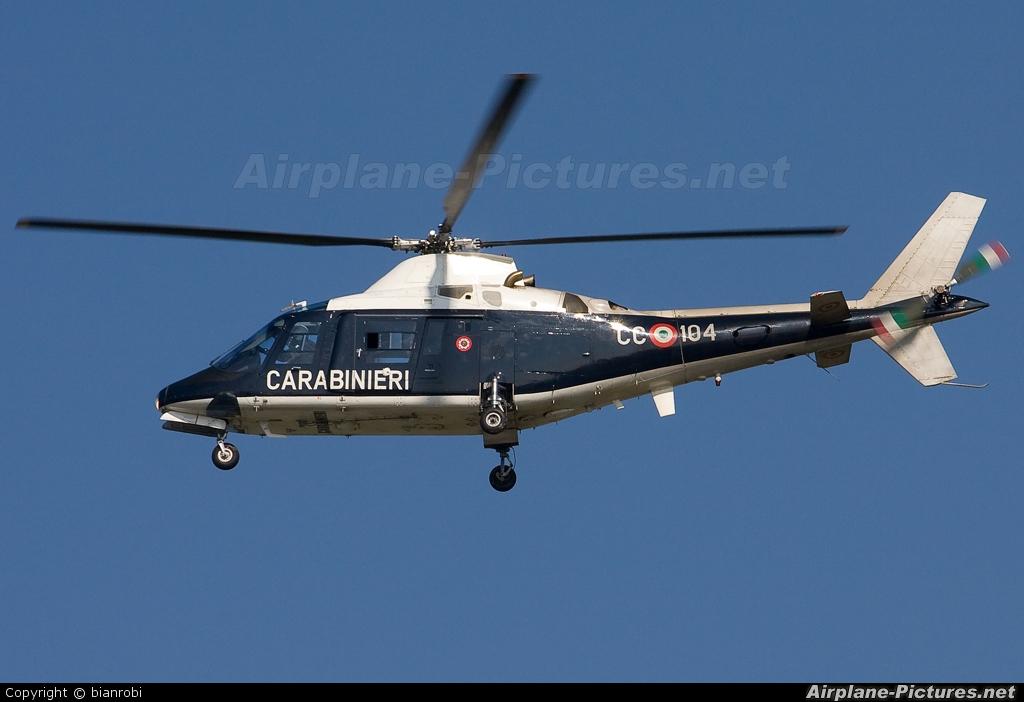 Italy - Carabinieri MM81316 aircraft at Verona - Villafranca