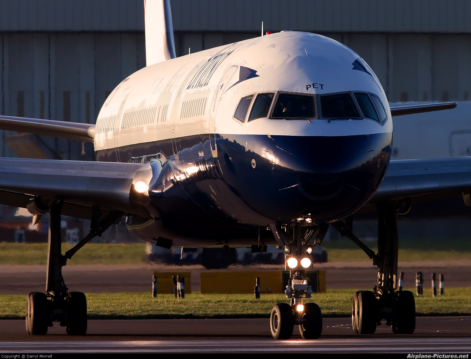 British Airways G-CPET aircraft at London - Heathrow