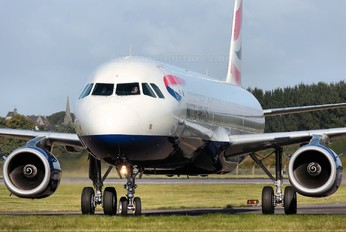 G-EUXL - British Airways Airbus A321