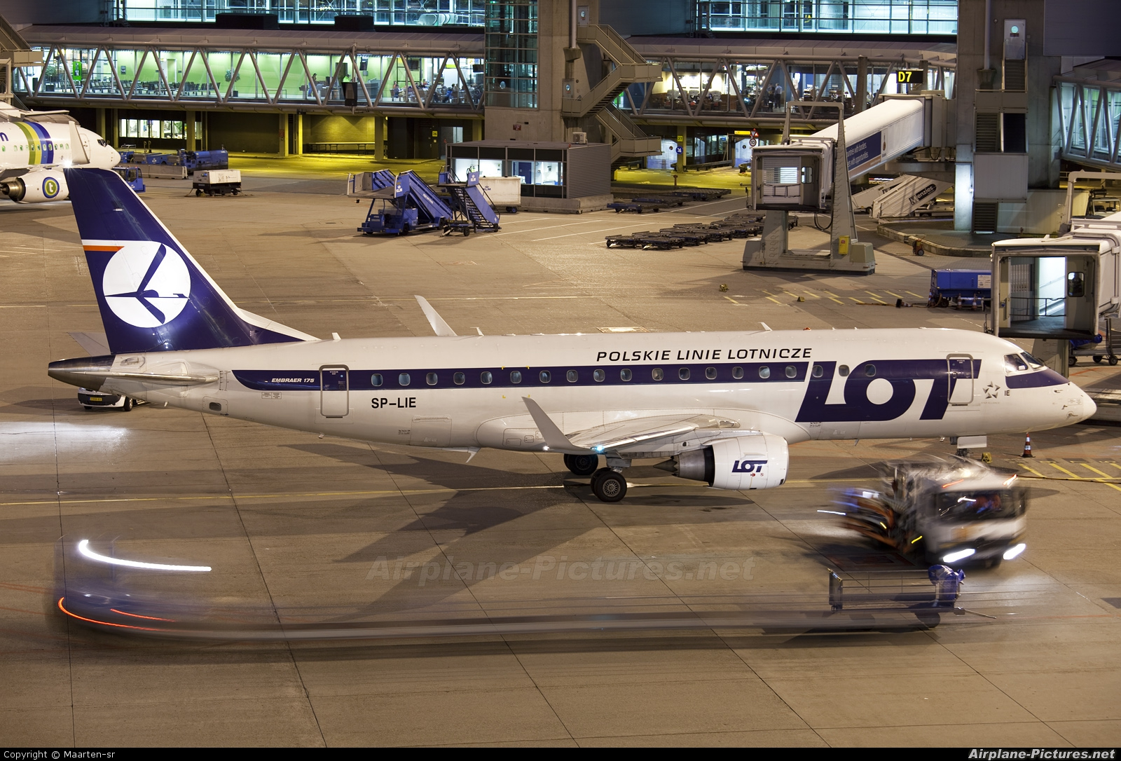 LOT - Polish Airlines SP-LIE aircraft at Amsterdam - Schiphol