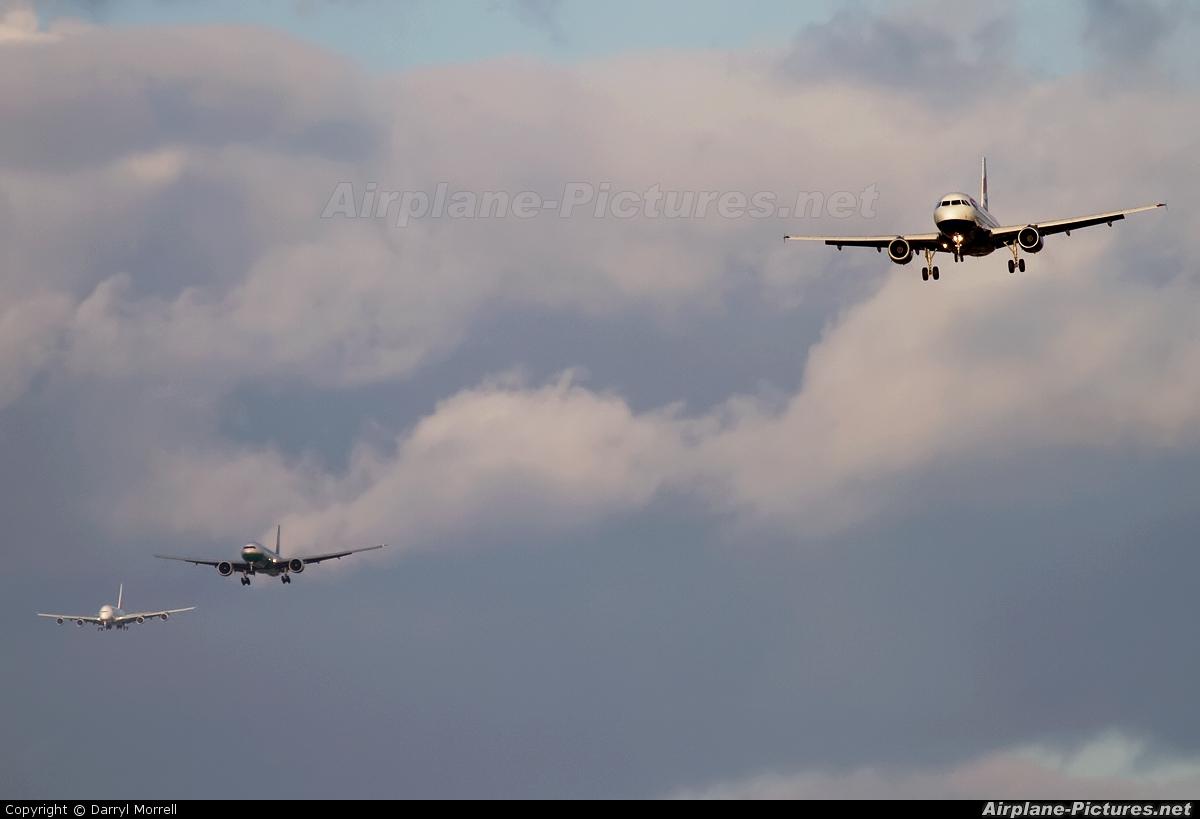 British Airways G-EUOF aircraft at London - Heathrow