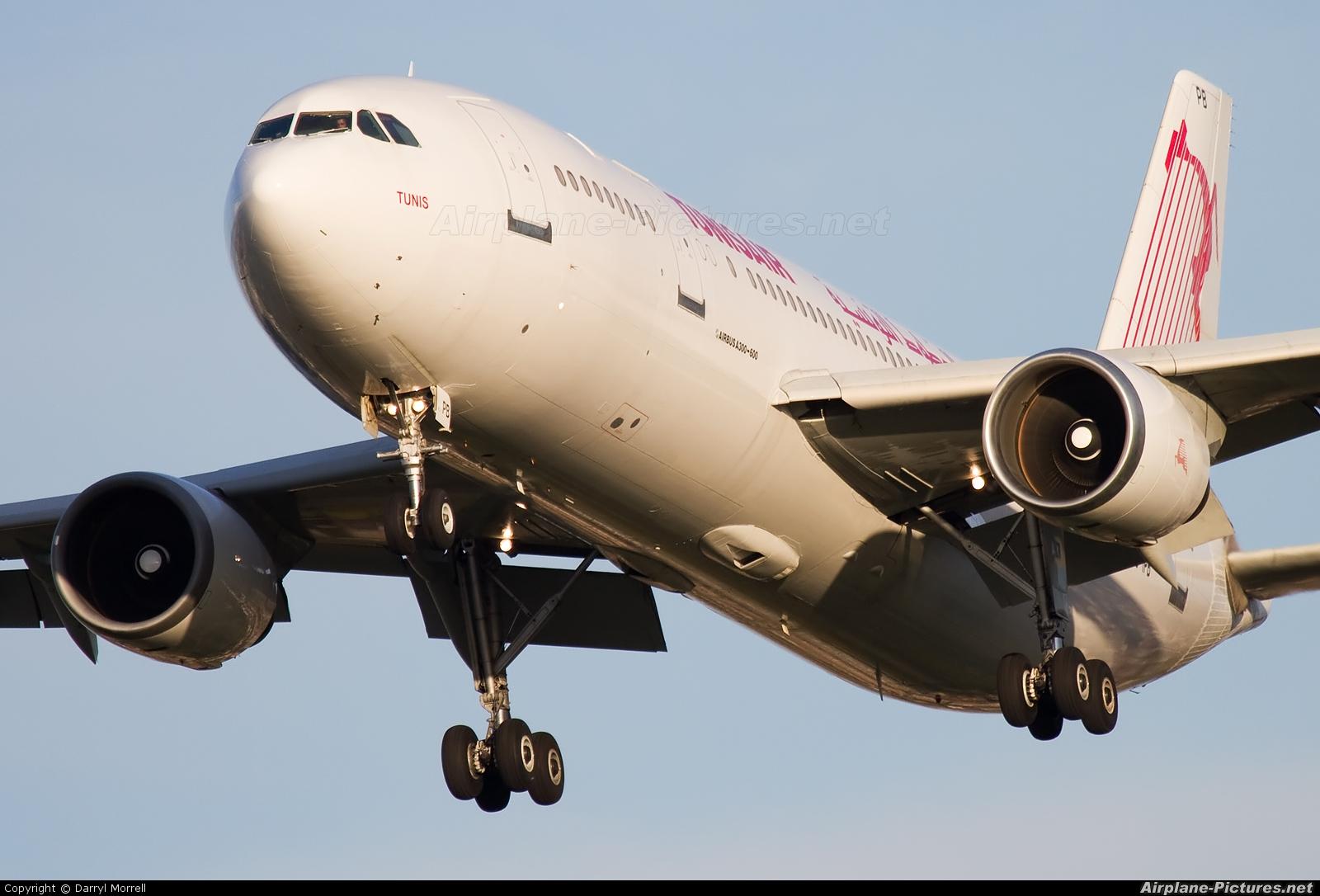 Tunisair TS-IPB aircraft at London - Heathrow