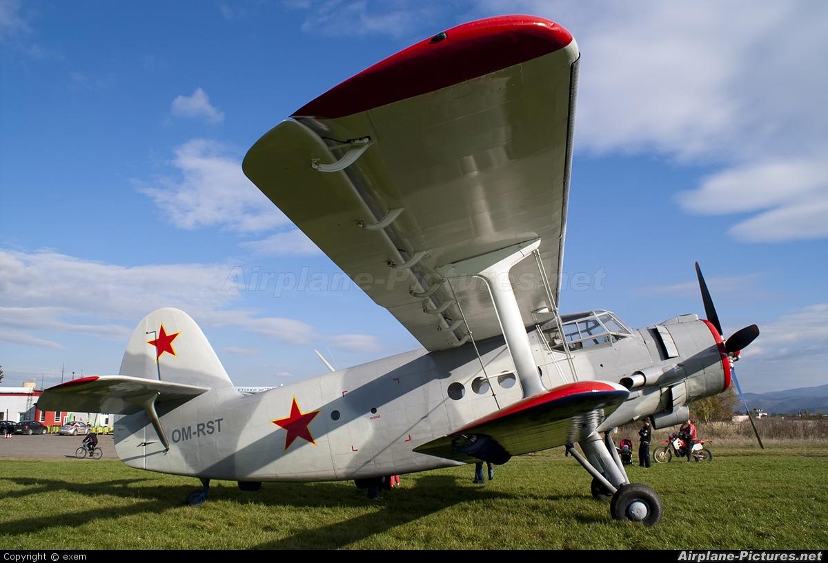 Private OM-RST aircraft at Spišská Nová Ves