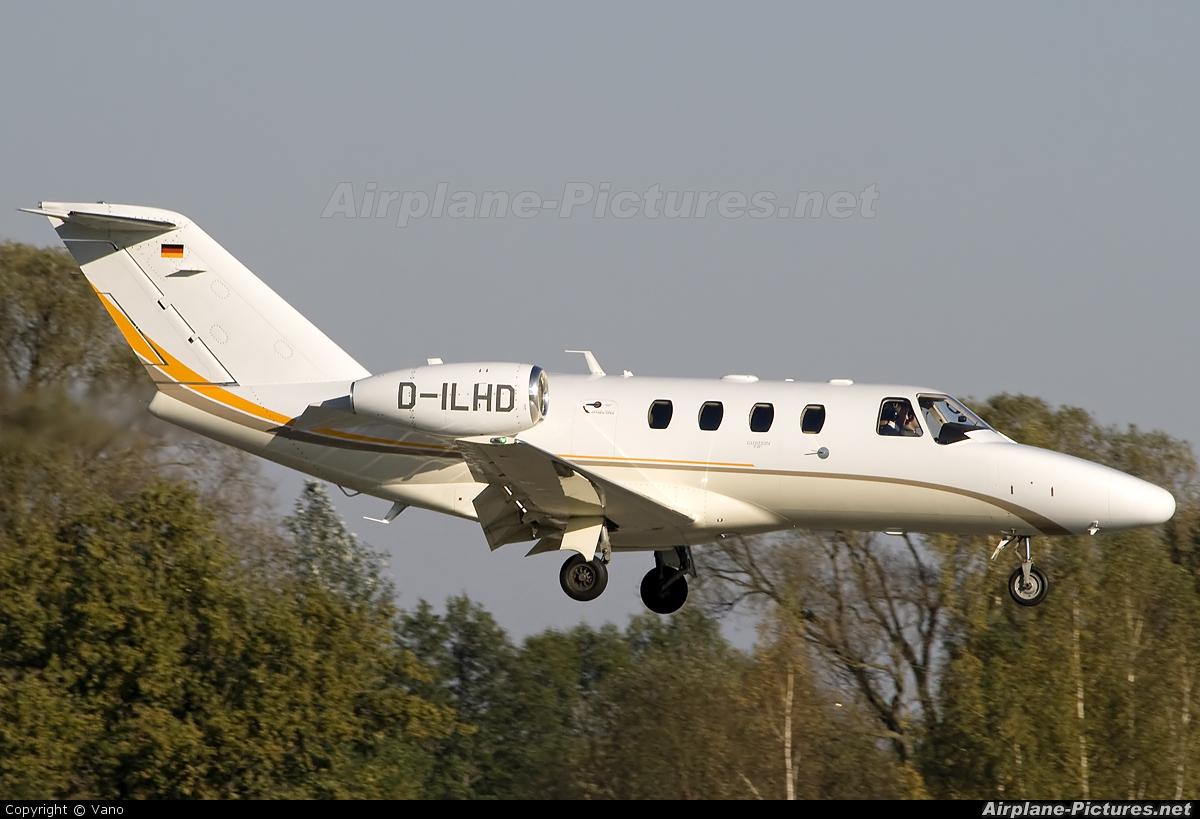 d ilhd lufthansa flight training cessna 525 citationjet at riga intl photo id 107381. Black Bedroom Furniture Sets. Home Design Ideas