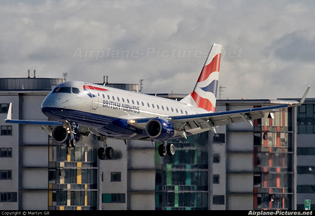 British Airways - City Flyer G-LCYD aircraft at London - City