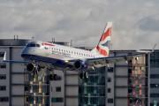 G-LCYD - British Airways - City Flyer Embraer ERJ-170 (170-100) aircraft