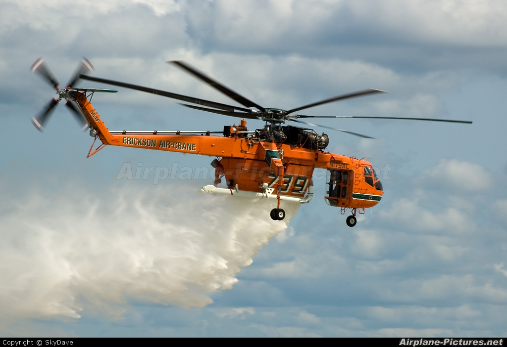 Erickson Air-Crane N179AC aircraft at Oshkosh - Wittman Regional