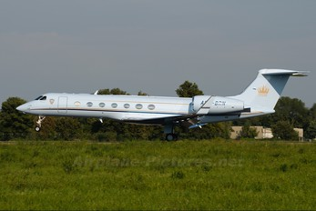 A9C-BRN - Bahrain Amiri Flight Gulfstream Aerospace G-V, G-V-SP, G500, G550