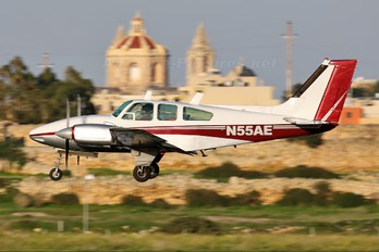 N55AE - Private Beechcraft 95 Baron