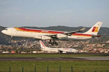 EC-IIH - Iberia Airbus A340-300