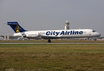 SE-DMK - City Airline McDonnell Douglas MD-87