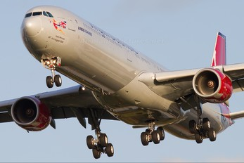 G-VGOA - Virgin Atlantic Airbus A340-600
