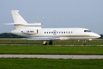 LN-BRG - Sundt Air Dassault Falcon 900 series