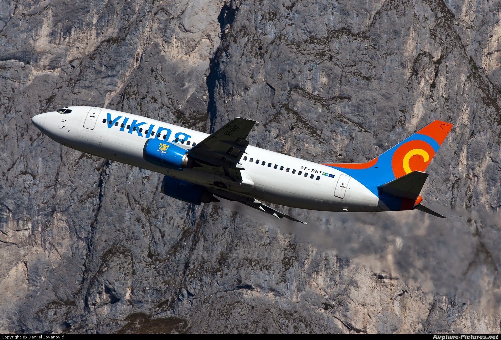 Viking Airlines SE-RHT aircraft at Innsbruck