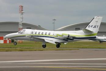 G-FJET - London Executive Aviation Cessna 550 Citation II