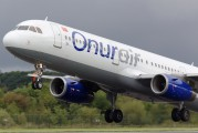 TC-OAF - Onur Air Airbus A321 aircraft