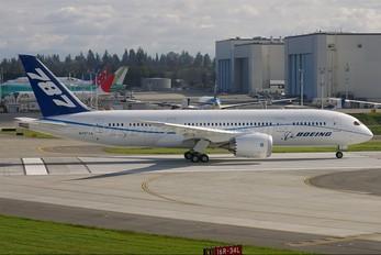 N787ZA - Boeing Company Boeing 787-8 Dreamliner