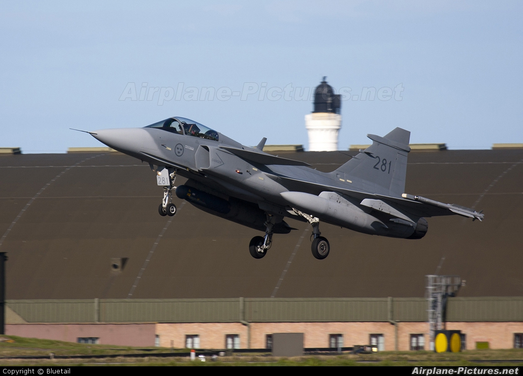 Sweden - Air Force 39281 aircraft at Lossiemouth