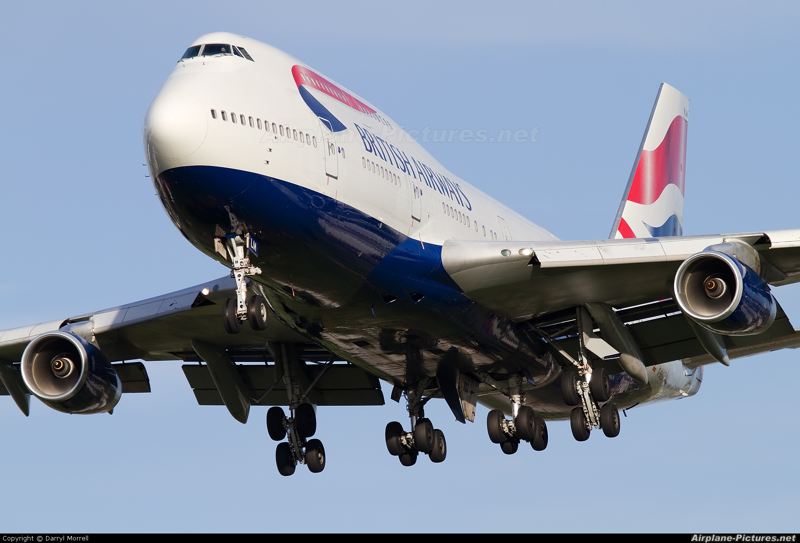 British Airways G-BNLM aircraft at London - Heathrow