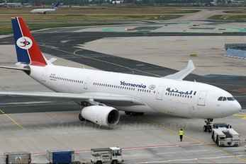 7O-ADP - Yemenia - Yemen Airways Airbus A330-200
