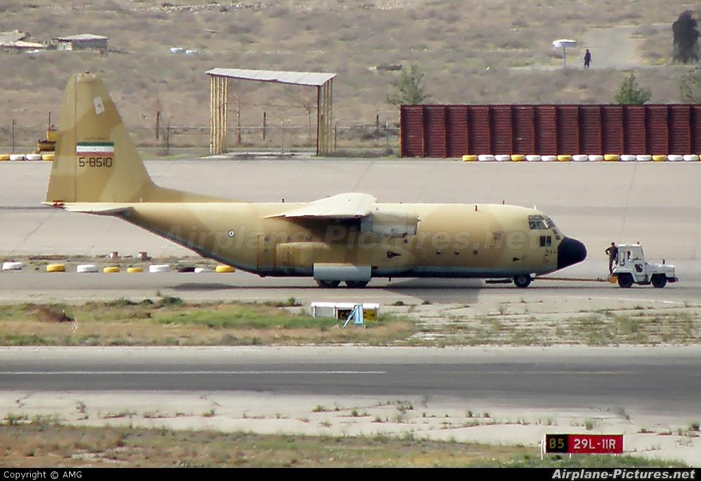 Iran - Islamic Republic Air Force 5-8510 aircraft at Tehran - Mehrabad Intl