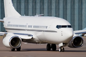 N2121 - Private Boeing 737-700 BBJ